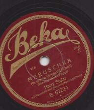 Harry Steier singt : In einem Ungarnstädtchen - Maruschka