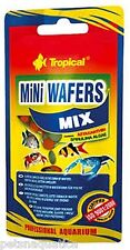18g Tropical MINI MIXED WAFER fish shrimp food crustacean bottom feeder