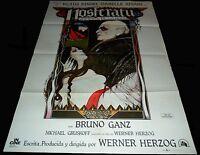 1979 Nosferatu ORIGINAL SPAIN POSTER Werner Herzog Klaus Kinski Bruno Ganz