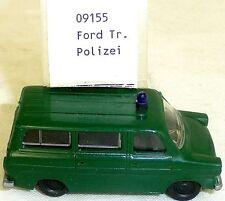 Policía Ford Transit Diésel Imu Euromodell 09155 H0 1:87 Emb.orig Puertos Å