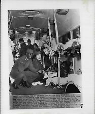 Freed Prisoners on the Bus at Andrews Air Force Base 1953 Korea War Press Photo
