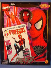 MARVEL FAMOUS COVER PREVIEWS EXCLUSIVE 8-INCH SPIDER-GIRL FIGURE RARE!!