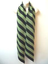 New Ladies Designer Pia Rossini Long Striped Winter Scarf Purple/Green Xmas ?