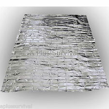 Emergency Survival Safety Mylar Solar Blanket Wrap Thermal Escape Shelter Warmth
