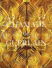 PUBLICITE ADVERTISING 014   1971   GUERLAIN  le parfum femme CHAMADE