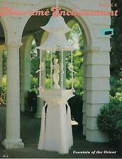 #SP4 Macrame Enchantment Book 4 Patterns Hanging Tables, Plant Hangers, Lamps