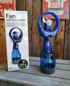 Handventilator Ventilator mit Wasserzerstäuber Feinzerstäuber Sprühflasche