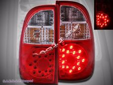 2005-2006 TOYOTA TUNDRA TRUCK  ACCESS Cab SR5 RED CLEAR L.E.D TAIL LIGHTS LAMPS