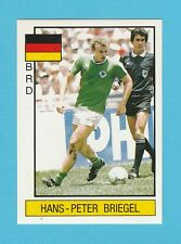 FOOTBALL - PANINI - SUPERSPORT STICKER NO. 57 - BRIEGEL OF WEST GERMANY - 1987
