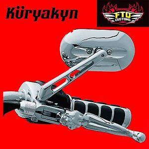 Kuryakyn Chrome Magnum™ Mirrors for Harley Davidson 1430
