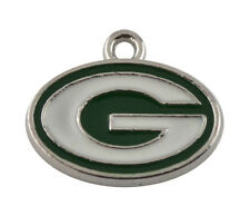 "Green Bay Packers Charm 3/4"" x 3/4"" for bracelets necklaces crafts NFL CLEARANCE"