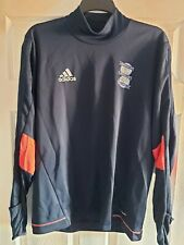 Birmingham City Blue Adidas Climacool Sweat Top Football Training Top Large