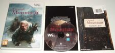 ** CURSED MOUNTAIN ** Nintendo Wii & Wii U Survival Horror Game **