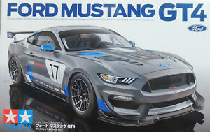 2017 FORD MUSTANG GT4 RACE CAR TAMIYA 1:24 PLASTIC MODEL CAR KIT