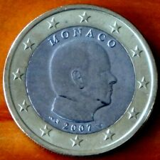 1 Euro Monaco 2007, 2014 oder 2016 Albert unzirkuliert unc.