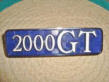 Nissan / Prince Skyline 2000GT C10 1868-1972 3rd generation emblem / badge NOS