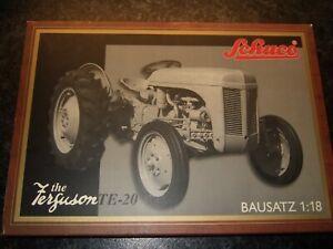 SCHUCO model farm tractor kit 1 18 FERGUSON TE20 BRITAINS ERTL SIKU metal