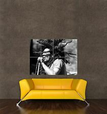 POSTER STAMPA FOTO MUSICA CONCERTO Reggae Star Legend Bob Marley punta seb415