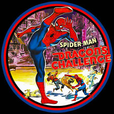 70's TV Classic The Amazing Spider-Man Dragon's Challenge custom tee Any Size