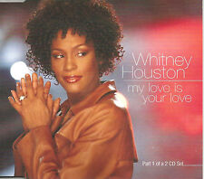WHITNEY HOUSTON & WYCLEF JEAN My Love is your 3TRXEMIXES & EDIT CD single SEALED