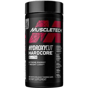 MuscleTech Hydroxycut  Fat Burner 100caps 💥VERIFING CODE OF AUTHENTICITY 💥