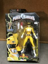 Bandai Mighty Morphin Power Rangers Legacy Collection Yellow Ranger Figure - NIB