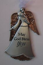 vd May God bless you Angel ANGELS OF FAITH ORNAMENT Ganz