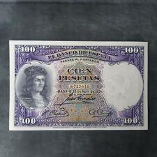 Billete de 100 pesetas 1931. SC-AUNC
