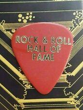 EAGLES Don Felder Rock & Roll Hall Of Fame red guitar pick