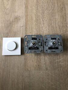 Jung Drehdimmer Universal LED 1731DD   2 X Licht Schalter  / Wie Neu / Fehlkauf
