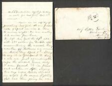 DETAILED 16APR 1865 CIVIL WAR SAILOR, USS VANDERBILT off CAPE HATTERAS headed NY