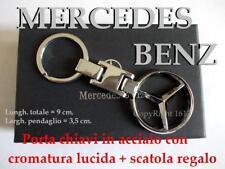 MERCEDES BENZ PortaChiavi KeyRings Porte-clés Llaveros KeyChain scatola regalo