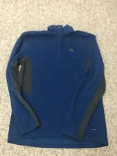 Mens Nike Acg Quarter Zip Nike Fit Pullover M Blue/Grey