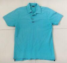 Mens Oakley Golf Polo Shirt Size L Mint Green Colour