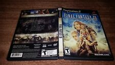 FINAL FANTASY XII 12 BLACK LABEL PLAYSTATION 2 PS2 LN PERFECT COMPLETE-!