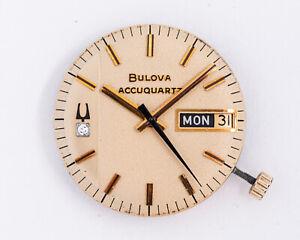 Original Vintage Bulova Accuquartz Day-Date Ref. 2242 w/ Original Dial & Hands!