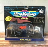 Vintage 1993 Galoob New In Box Star Wars Micro Machines Space Return Of The Jedi