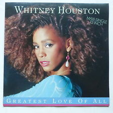 "MAXI 12"" WHITNEY HOUSTON Greatest love of all 608084"