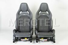 Mercedes-Benz Front AMG Performance Seats for C-Class W205 LHD grey stitch