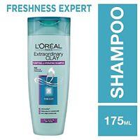 L'Oreal Paris Extraordinary Clay Shampoo, 175ml/360ML/640ML FREE SHIP