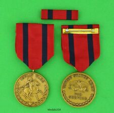 Army Indian Wars Campaign Medal and Ribbon Bar