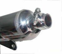 Silencieux d'échappement en acier chromé pour Royal Enfield Bullet Classique