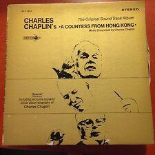 Charles Chaplin-A Countess From Hong Kong-LP-Decca-DL 71501-Gatefold