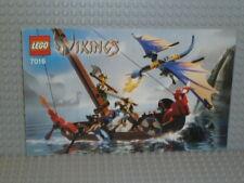 LEGO® Vikings Bauanleitung 7016 Wikinger Boot gegen Drachen instruction B4435