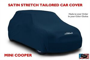 Austin Mini Cooper Custom Tailored Satin Stretch Indoor Car Cover from Coverking
