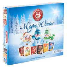 Teekanne Magic Winter Fruit and Herb Tea Selection Box 6 Flavours 5 Teasbag Each