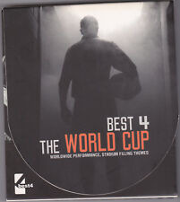 BEST 4 THE WORLD CUP PROFESSIONAL ANTHEMS THEMES RARE 2 CD COMPILATION