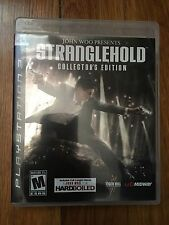John Woo: Stranglehold - Collector's Edition (Sony PlayStation 3, 2007) Complete