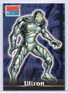 ULTRON / Marvel Legends (Topps 2001) BASE Trading Card #62