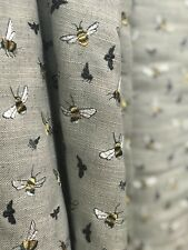 Embroidered Bumble Bee Fabric